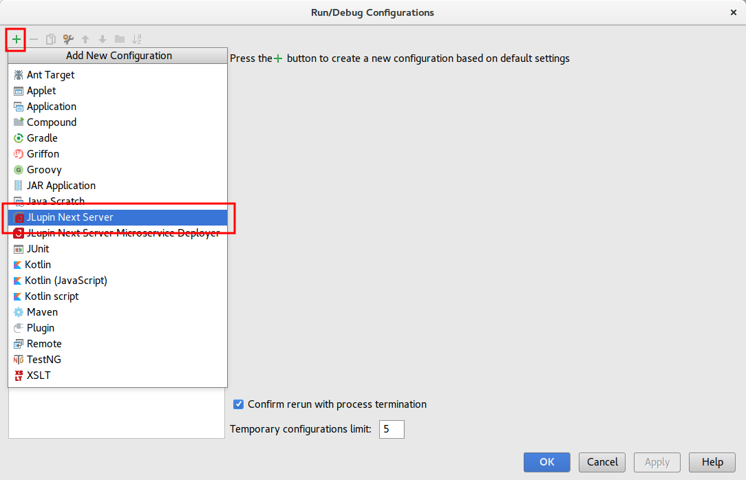 JCS JLupin Next Server IntelliJ Plugin 1 1 5